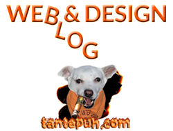 Hund Webdesign Blog und Homepage